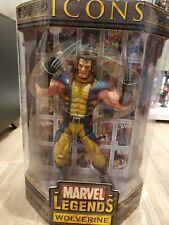 """Wolverine Marvel Legends Icons 1/6 12"""" Unmasked Version figure"""