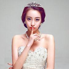 Crystal Rhinestone Head Chain Bridal Headpiece Wedding Crown Hair Jewelry CB