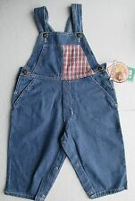 New dungarees for boys or girls 12m blue