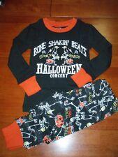 Unisex 2-Piece Glow In the Dark Halloween Pajamas  Size 2T   NWT!