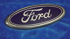 "FORD XL 7 "" Blue And Chrome Exterior Car Emblem Badge Nameplate OEM"