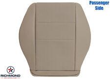2008-2015 Mercedes Benz GLK 250 350-Passenger Side Bottom Leather Seat Cover Tan