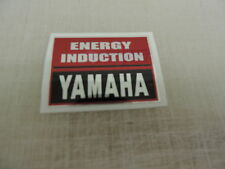 YAMAHA ENERGY INDUCTION DECAL GRAPHIC YAMAHA IT Vintage Motocross AHRMA