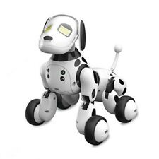 Intelligent Sensing Robot Dog Pet Toy for Parent-Child Interactive (Black&White)