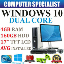 "Desktop PC Windows 10 17"" RAM 4GB"