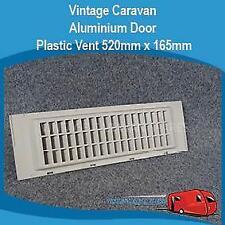 Caravan Door Vent  520mm x 165mm Plastic Millard Camec