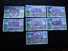 COTE D IVOIRE - timbre yvert/tellier n° 390 x7 obl (A27) stamp (A)