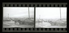 Front Engine Dragster on Trailer - Vintage 35mm Race Negatives