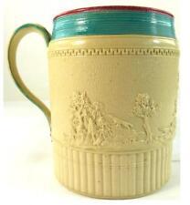 Late 18TH secolo inglese Tazza in ceramica stoneware Fox SCENE DI CACCIA