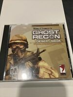 Tom Clancy's Ghost Recon Desert Siege (PC) Video Game  cracked case