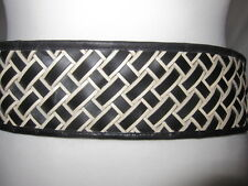New Womens Marks & Spencer Autograph Black & White Belt Size Large