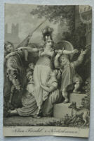 "KUPFERSTICH ""KLEIN FRIEDEL"" KRETSCHMANN 1809 ca. 7 x 11 cm H. Ramberg W. Böhm"
