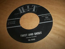 HIT RECORDS 45 THE BUGS TWIST AND SHOUT + THE CHELLOWS STAY EXC