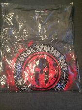NEW Factory Sealed Official Reebok Spartan Race 2016 SPRINT Finisher Shirt XL