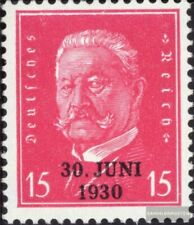 Deutsches Reich 445 mit Falz 1930 30.Juni 1930