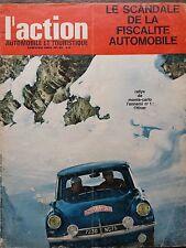 L'ACTION AUTOMOBILE 1964 N 41 RALLY DE MONTE CARLO