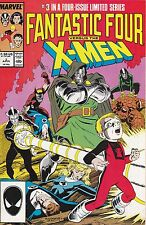 Fantastic Four vs. X-Men #2 to #4  – all in great condition!