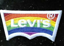 Levi's 2017 Pride Rainbow Iron-On/Sew on Patch_Authentic_RARE Support LGBT