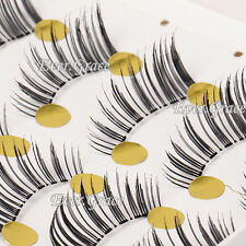 5 Pairs Handmade Natural False Half Eyelashes Mini Corner Eye Lashes Extension