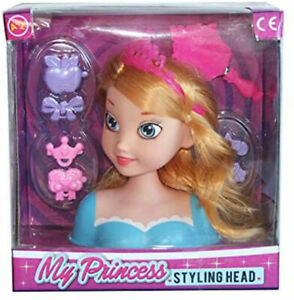 Girls Fashion Hair Styling Dolls Head Glamour Play Set Kids Childs Toy New Boxed