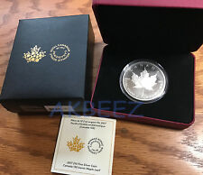 2017 2 oz Canada 150 th Anniversary Iconic Silver Maple Leaf - FREE SHIPPING
