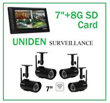 UNIDEN G1740 DIGITAL WIRELESS SURVEILLANCE CAMERA SYSTEM 24/7 SECURITY