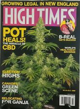 High Times March 2017 Pot Heals B Real Election Highs Ganja FREE SHIPPING sb