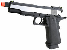 Airsoft Gun Metal Pistol 1911 Style SRC Hi-Capa [5.1] Gas Blowback 6mm BB -2Tone