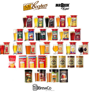 Coopers Beer Lager Making Kits Make Home Brew Refill Ingredients Kit Brewing