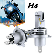 2pcs H4 9003 HB2 LED Motorcycle Headlight Bulb ZES Hi/Low Beam 6500K High Power