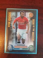 07/08 Match Attax Trading Card   Ryan Giggs Man of the Match   Man. United