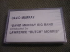 SEALED RARE PROMO David Murray Big Band CASSETTE TAPE Lawrence BUTCH Morris JAZZ