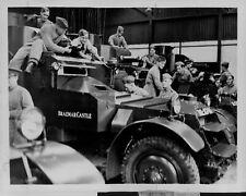 1934 Great Britain Cavalry Regiment Tidworth Camp Press Photo