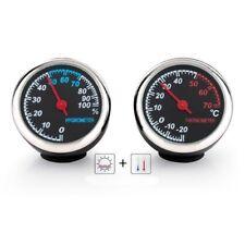 KFZ Uhr Thermometer Automechaniker DEKO mit leuchtende