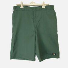 Mens Dickies Casual Shorts Green Size XL W 40