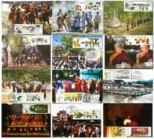 Myanmar 2019 Complete Maximum Cards Set of Festivals (Burma, Birmanie, Birma)