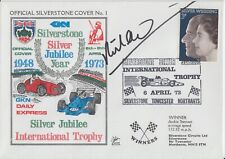 Richard Attwood Hand Signed Silverstone Silver Jubilee Year First Day Cover.