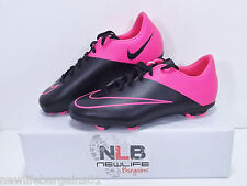 Nike Mercurial Vapor X FG Soccer Cleats 747565-006 Youth Size 5.5Y/WMNS 7