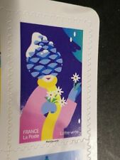 NOEL VOEUX FRANCE 2020, timbre AUTOADHESIF SPECTACULAIRE POMME PIN neuf**, MNH