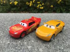 Disney Pixar Cars 3 McQueen & Cruz Ramirez 2pcs Set Diecast Vehicle New No Box