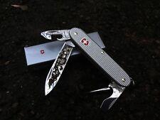 Victorinox Swiss Army Knife 93mm Pioneer Range Alox Castom engraving 2 colors