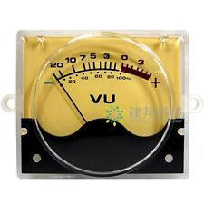 VU meter level meter Audio Volume Unit indicator Peak DB table Panel P-55SI*2PCS