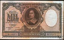 1000 pesetas 1940 Murillo @@ EXCELENTE Ejemplar @@
