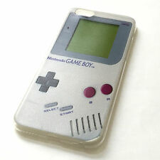 for iPhone 6 / 6S - GRAY GAMEBOY PLAYER Soft TPU Rubber ULTRA THIN Case Cover