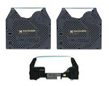 Smith Corona 250DLE 2PK Ribbon and 1PK Correction Tape Cassette + Free Shipping