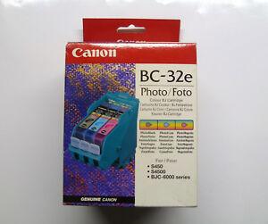 Druckkopf Canon BC-32e BC-32 Photo Foto S450 S4500 BJC-6000 Serie ----- o.V./OVP