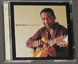 MUDDY WATERS 1947-1972 The Anthology 2-CD US 2001 Chess / MCA OOP MINT
