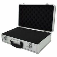 Large Hard Aluminium Flight Carry Case Foam Tool Camera Secure Storage Carry Box
