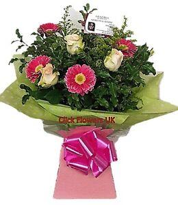 FRESH FLOWERS Delivered UK Rose & Gerbera Free Flower Delivery