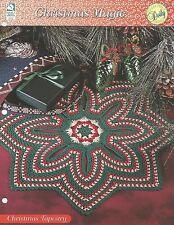 Christmas Tapestry Doily Crochet Pattern - Christmas Magic HOWB Series Star